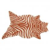 Zebra Melon Shaped Indoor-Outdoor Rug