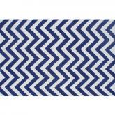 Chevron Blue Rug
