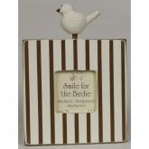 Birdie Top Picture Frame - Chocolate
