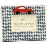 Houndstooth Car Picture Frame