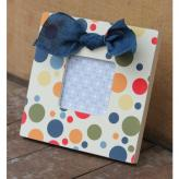 Square Dots Embellished Picture Frame