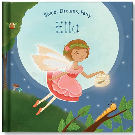 Sweet Dreams, Fairy, Personalized Book Thumbnail