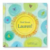 God Loves You Personalized Book