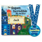 The Super Incredible Big Brother Customizable Storybook