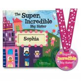 The Super Incredible Big Sister Customizable Storybook