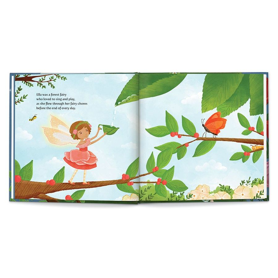 Sweet Dreams, Fairy, Personalized Book Thumbnail 1