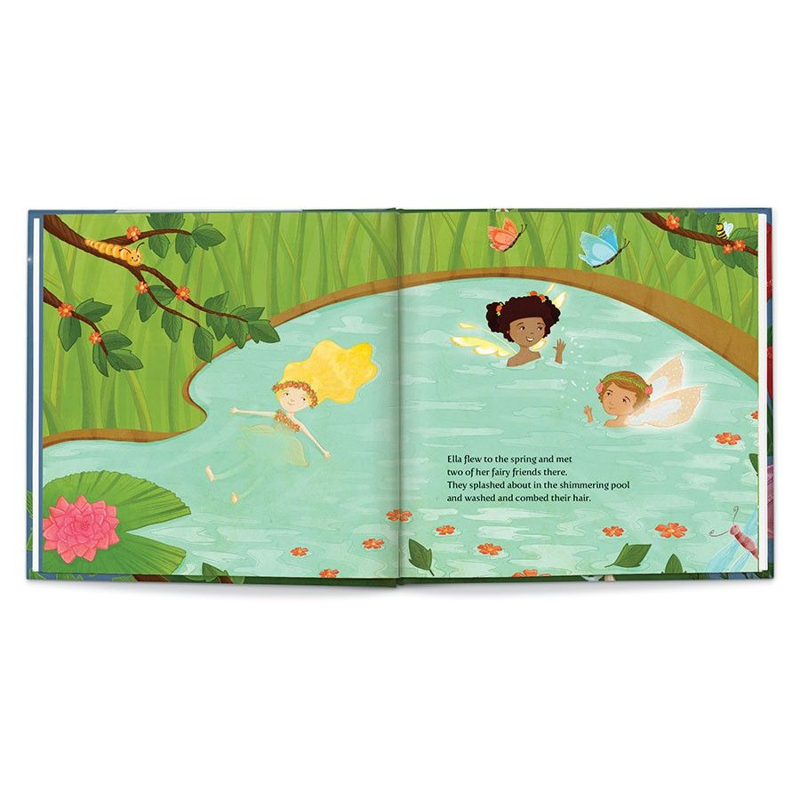 Sweet Dreams, Fairy, Personalized Book Thumbnail 4