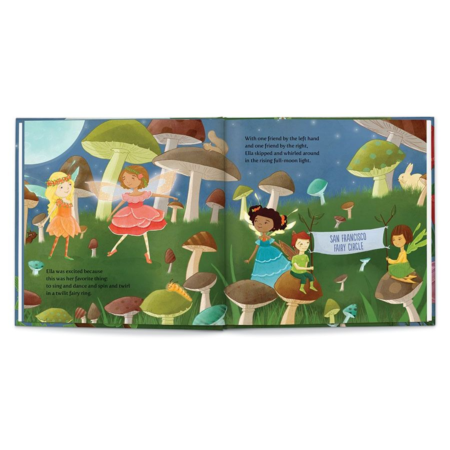 Sweet Dreams, Fairy, Personalized Book Thumbnail 7