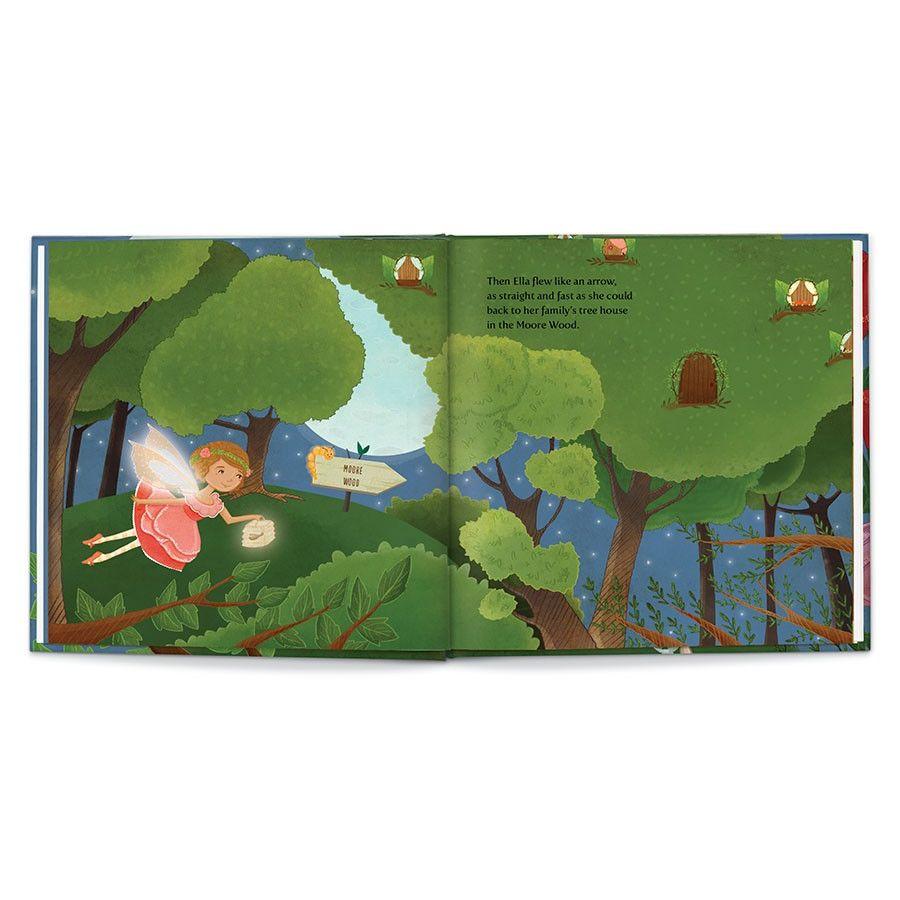 Sweet Dreams, Fairy, Personalized Book Thumbnail 8