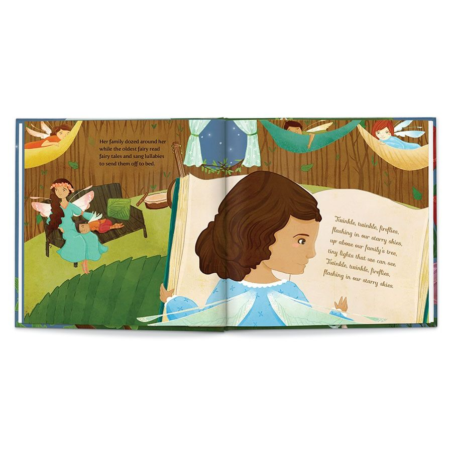 Sweet Dreams, Fairy, Personalized Book Thumbnail 10