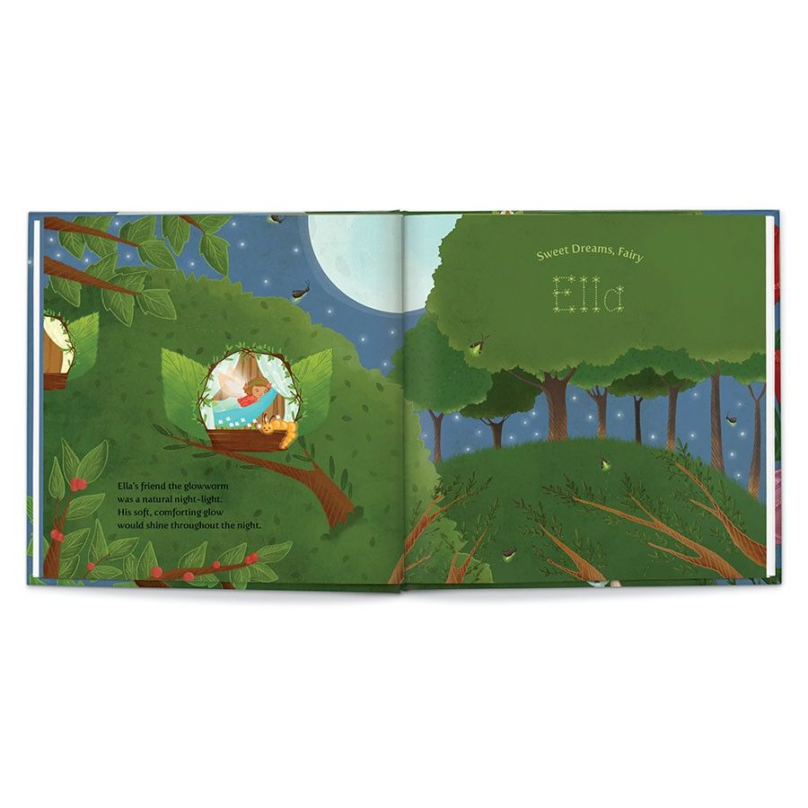 Sweet Dreams, Fairy, Personalized Book Thumbnail 11