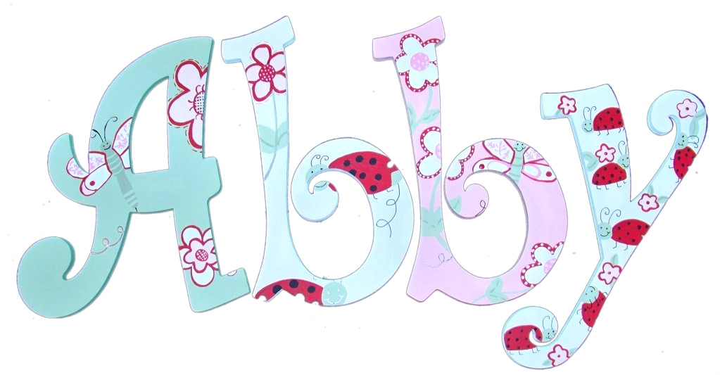 The Name Abby In Cool Letters