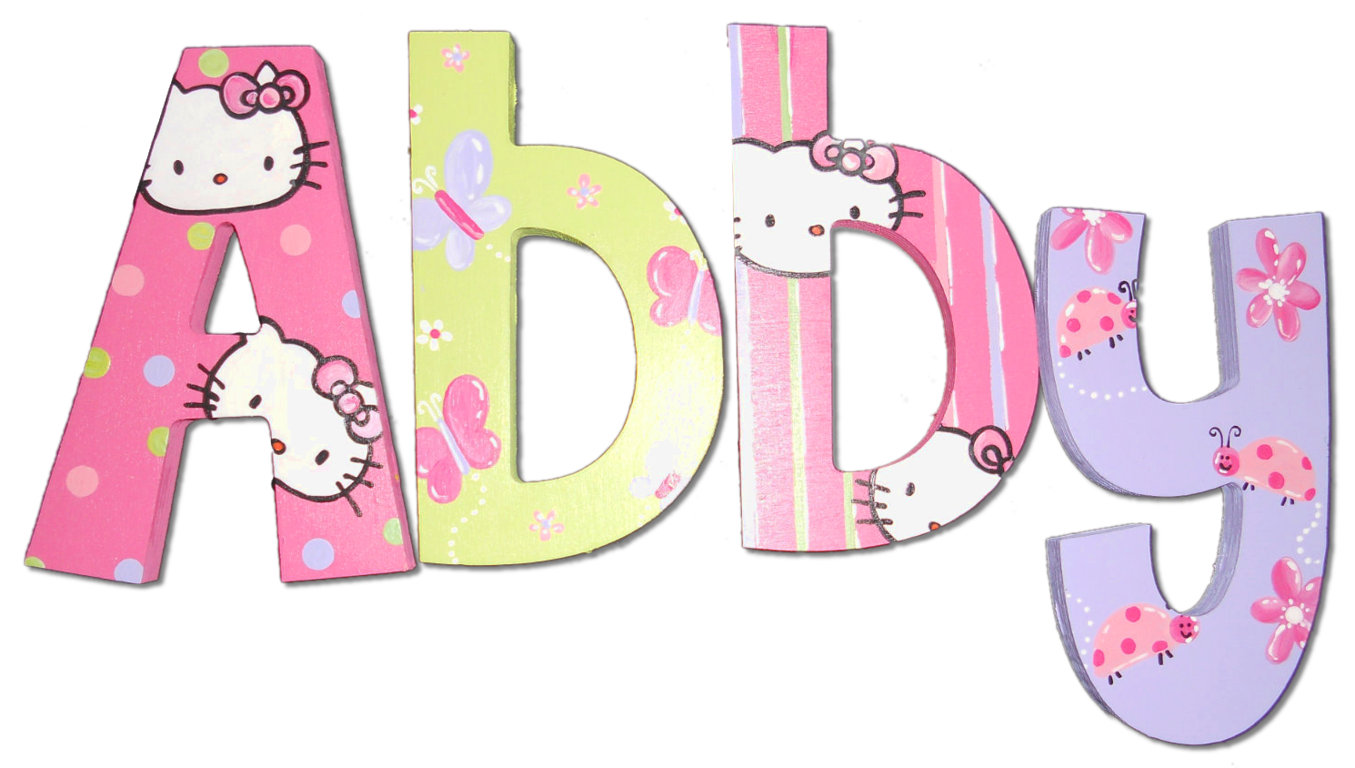 """Kid Kraft Wooden Wall Letter Lowercase /""""a/"""" Pink"""