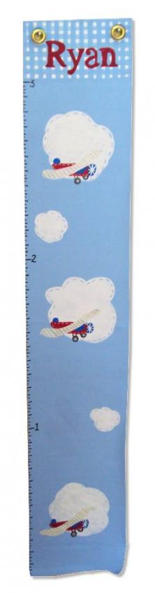 Custom Painted Wooden Growth Chart Thumbnail 4