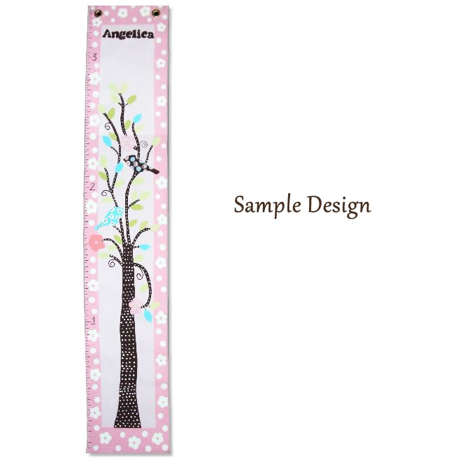 Custom Painted Growth Chart