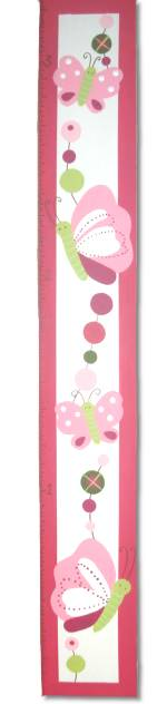 Custom Painted Wooden Growth Chart Thumbnail 2