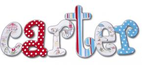 Carter's Vintage Circus Kids' Wall Letters