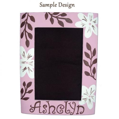 Kids Custom Painted Picture Frame Thumbnail