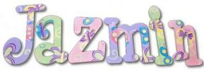Pastel Ladybug & Butterfly Wall Letters