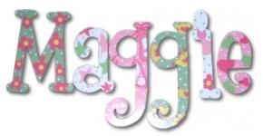 Ballet Princess Hand Painted Wall Letters