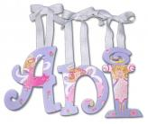 Anis Hand Painted Angel Wall Letters