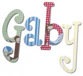 Curious George Handpainted Wall Letters