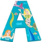 Merry Mermaid Custom Painted Letters