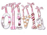 Cupcake Wall Letter Decor