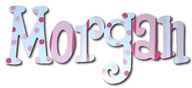 Strawberry Truffles Hand Painted Wall Letters Thumbnail 1