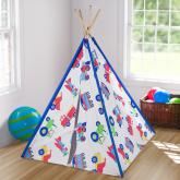 Trains, Planes and Trucks Kids Teepee