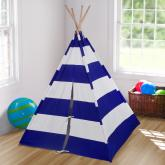 Blue Striped Kids Teepee