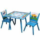 Trains, Planes and Trucks Table and Chairs
