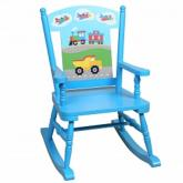 Trains, Planes and Trucks Rocking Chair